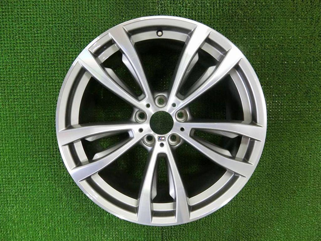 極美品!BMW X5 純正 Mスポーツ アルミ4本 №190625-4 20×10J +40/20×11J +37 *F15・X6 F16等スタイリング469M_画像6