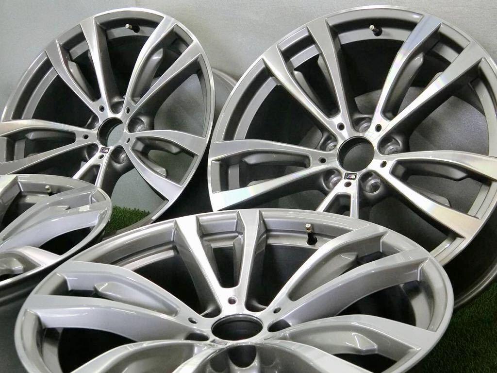 極美品!BMW X5 純正 Mスポーツ アルミ4本 №190625-4 20×10J +40/20×11J +37 *F15・X6 F16等スタイリング469M