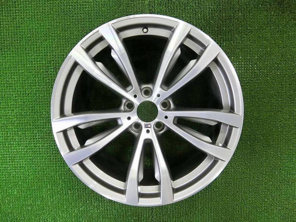 極美品!BMW X5 純正 Mスポーツ アルミ4本 №190625-4 20×10J +40/20×11J +37 *F15・X6 F16等スタイリング469M_画像3