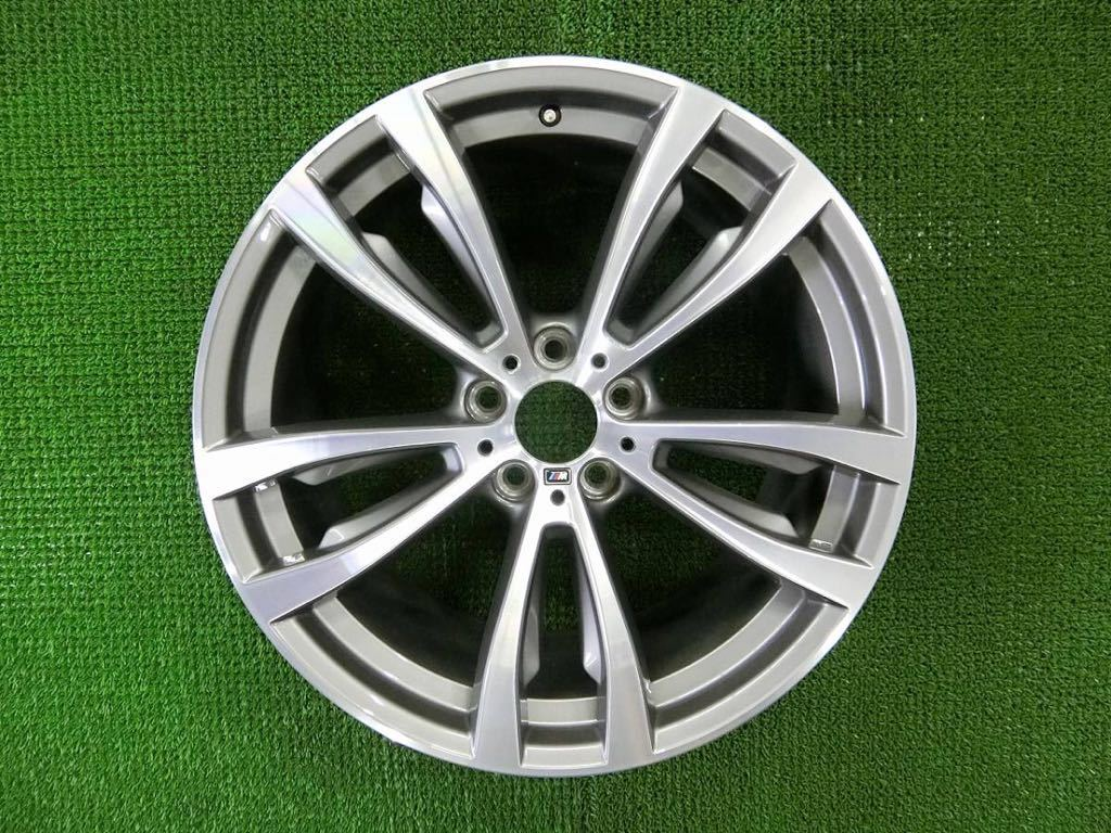 極美品!BMW X5 純正 Mスポーツ アルミ4本 №190625-4 20×10J +40/20×11J +37 *F15・X6 F16等スタイリング469M_画像5