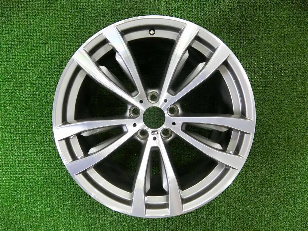 極美品!BMW X5 純正 Mスポーツ アルミ4本 №190625-4 20×10J +40/20×11J +37 *F15・X6 F16等スタイリング469M_画像4