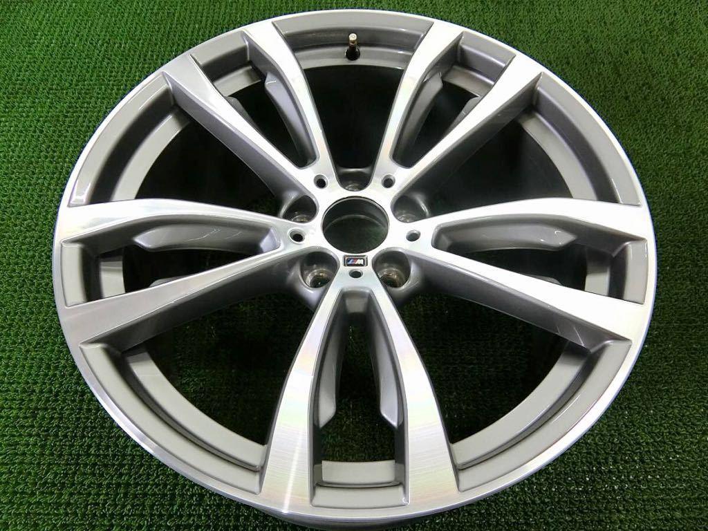 極美品!BMW X5 純正 Mスポーツ アルミ4本 №190625-4 20×10J +40/20×11J +37 *F15・X6 F16等スタイリング469M_画像7