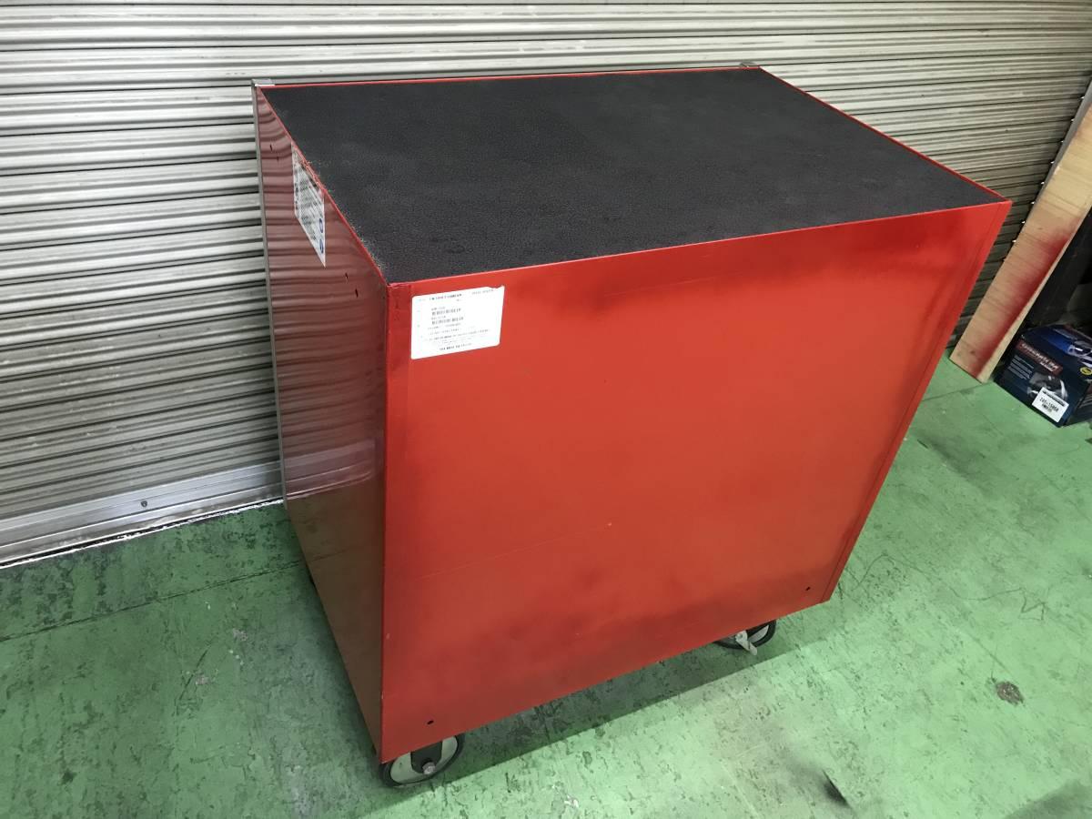 最落無 スナップオン 7段 ロールキャブ 工具箱 赤 KRL756A SNAP-ON 鍵有 中古 キャビネット ツールボックス 収納 ロックンロール ガレージ_画像6