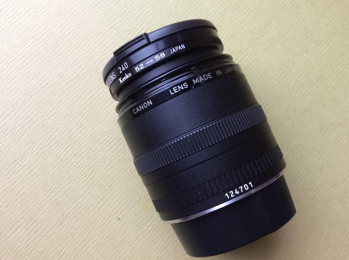 CANON キャノン レンズ COMPACT-MACRO LENS EF 50mm 1:2.5+ CANON 58mm CLOSE-UP LENS 240 ♪_画像8