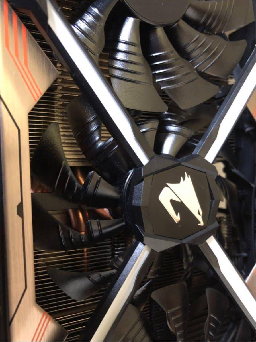 ジャンク GeForce GTX 1080ti GIGABYTE AORUS_画像7