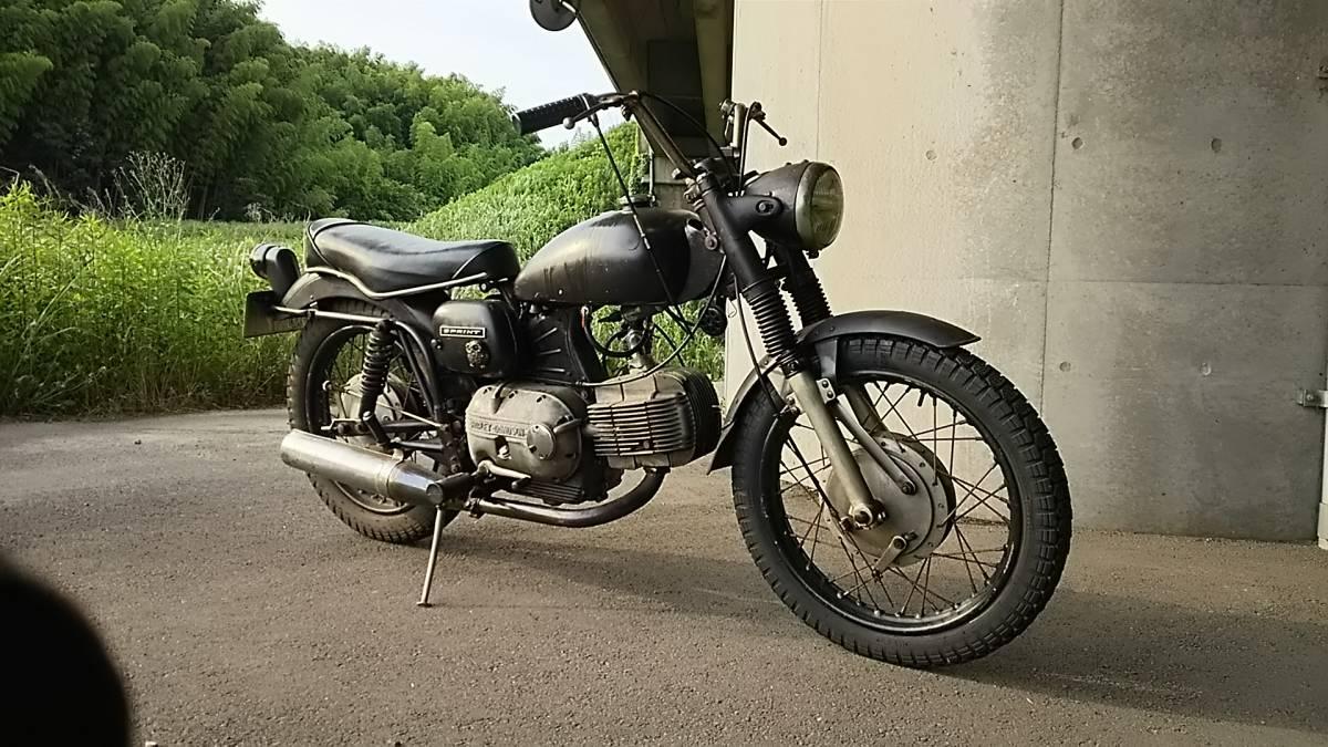 ハーレーダビットソン アエルマッキ アエルマッキスプリント aermacchi 250