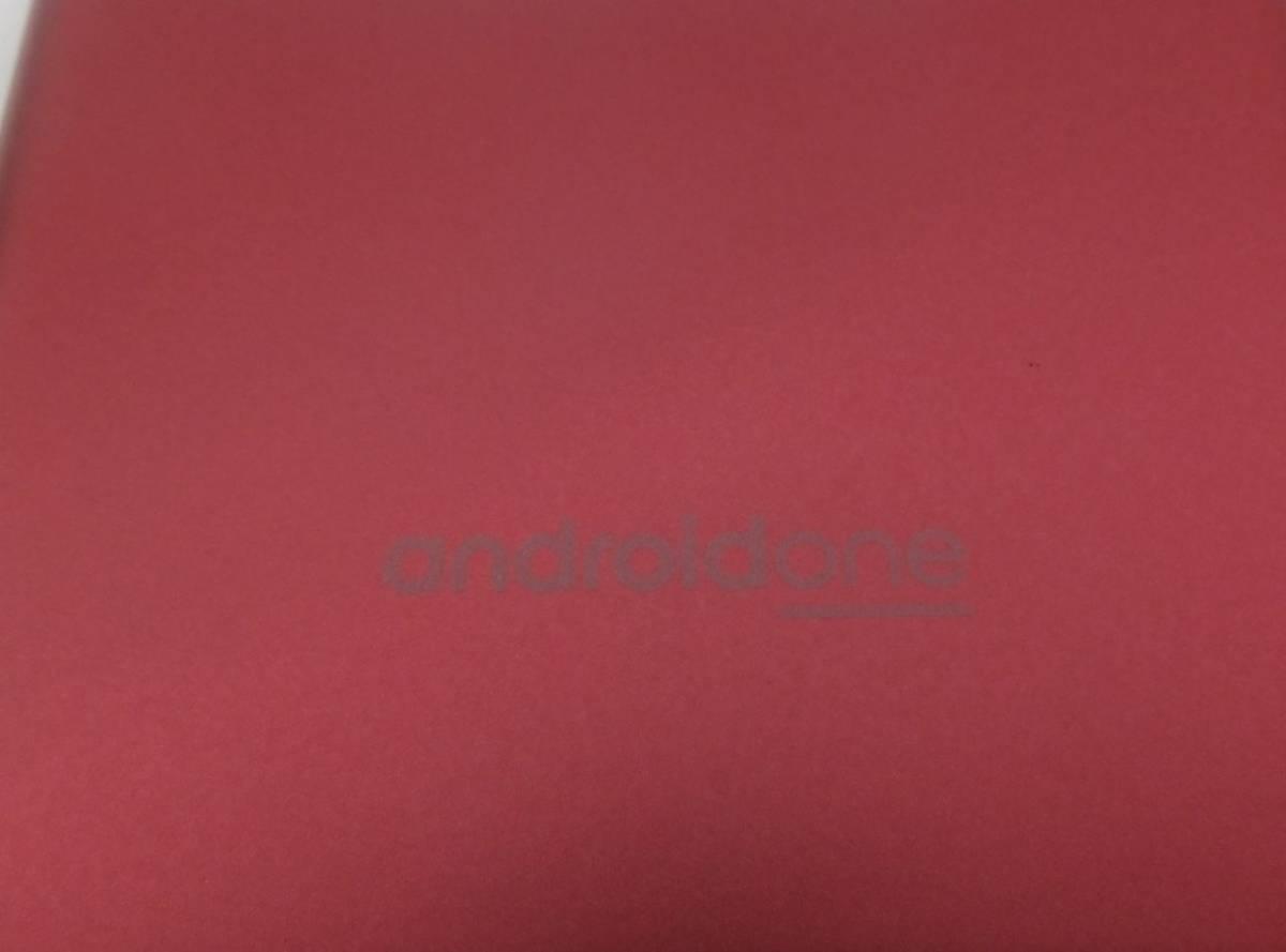 #34121 美品 SoftBank ソフトバンク Android One S5 S5-SH ピンク SHARP シャープ_画像3