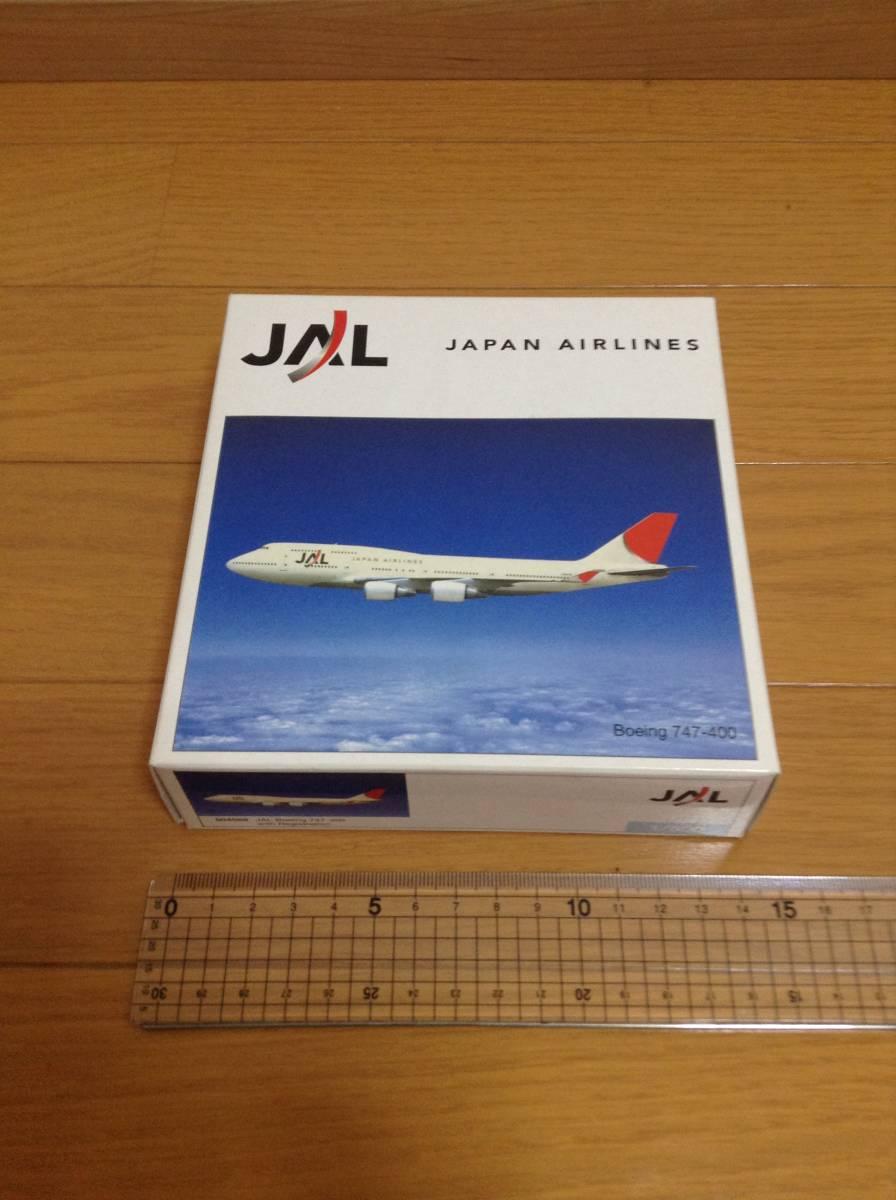 B747-400 日本航空(2003-2011塗装)1/500模型_画像3