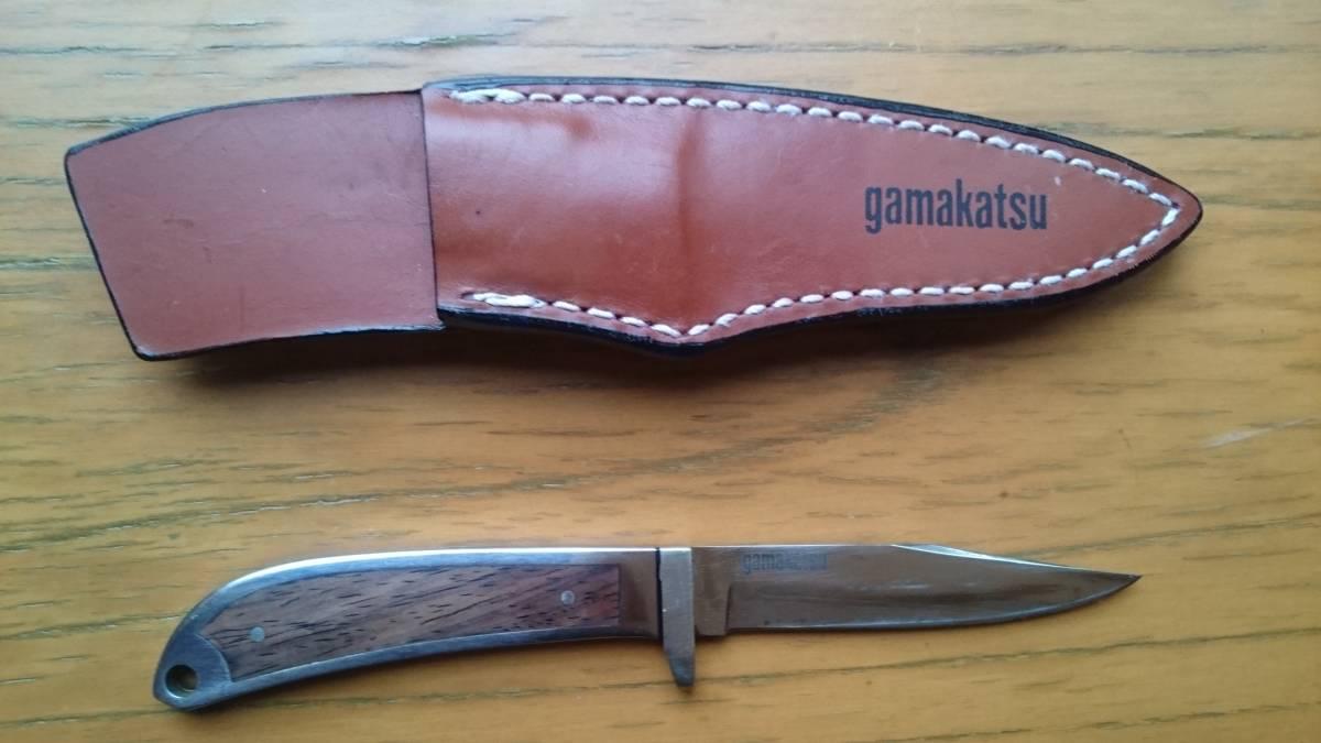 がまかつ フィッシングナイフ GM-1804 美品 サンライン 釣武者