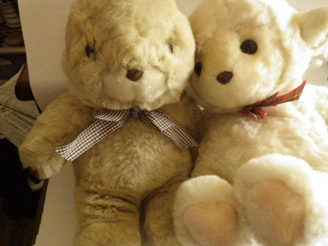 中古 ウサギと羊のお人形_画像7