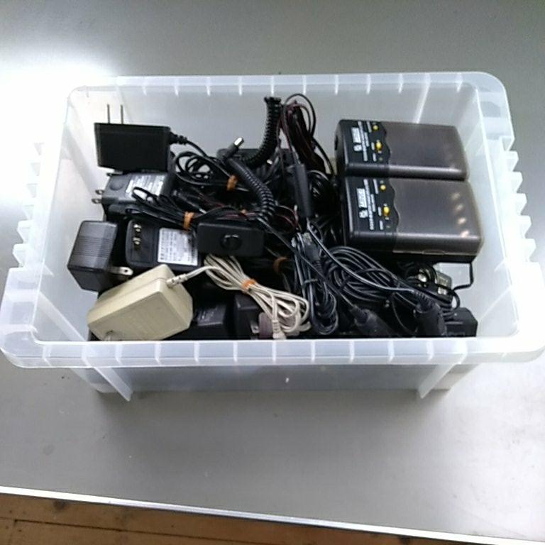 ACアダプター大量 充電器 シガーソケット給電ケーブルなど まとめて_画像7