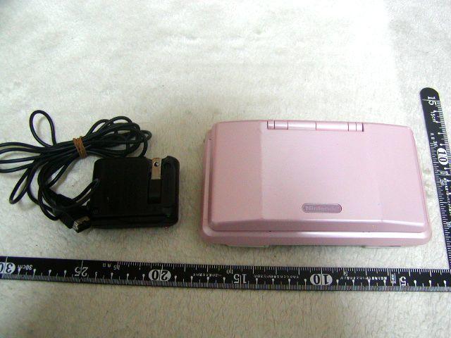 ★お得 希少 Nintendo NINTENDO DS ピンク ACアダプター 充電池付 当時物 ゲーム おもちゃ★