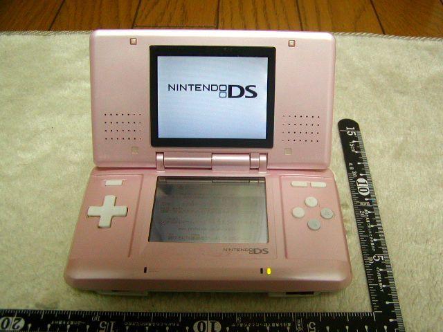 ★お得 希少 Nintendo NINTENDO DS ピンク ACアダプター 充電池付 当時物 ゲーム おもちゃ★_画像2
