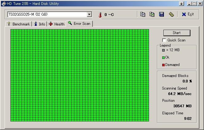 Transcend 2.5インチ IDE 32GB SSD 動作確認済_画像5