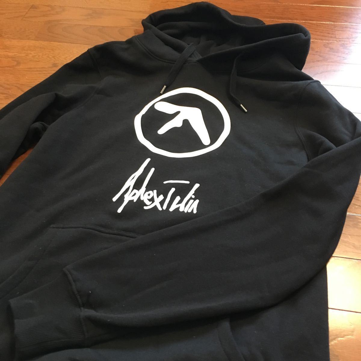 Aphex Twin エイフェックスツイン スウェットパーカー Mサイズ 公式グッズ 海外公式サイト購入_画像2