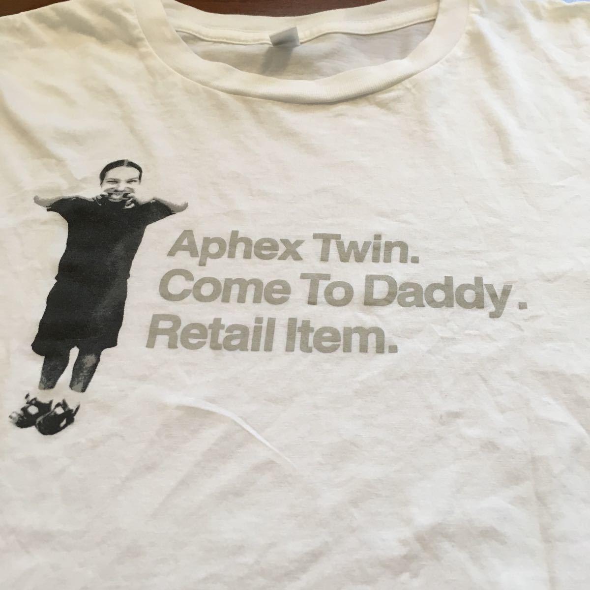 Aphex Twin エイフェックスツイン 半袖Tシャツ Mサイズ 公式グッズ 海外公式サイト購入_画像2