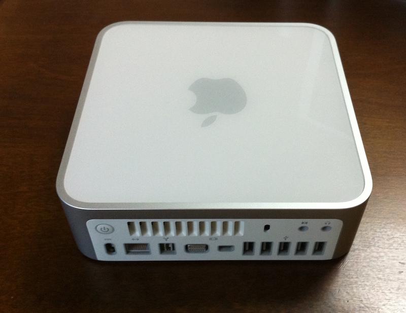 Mac mini (Early 2009) Intel Core2Duo 2GHz/320GB_画像2