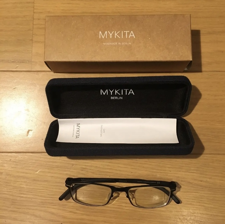 【MYKITA マイキータ】 NO.1*GENE* BLACK 黒 眼鏡 メガネ めがね (ic! berlin アイシーベルリン 好きにも)