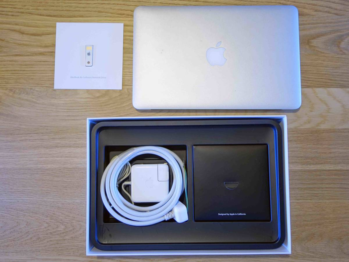 Apple MacBook Air A1370 Core 2 Duo 1.4/128G/4G/11.6インチ/_画像5