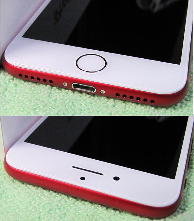 傷なし 新品同様美品 SIMフリー 化済 Apple iPhone7 128GB レッド docomo版 SIMロック解除済 格安SIM OK iphone 7 スピード発送_画像5
