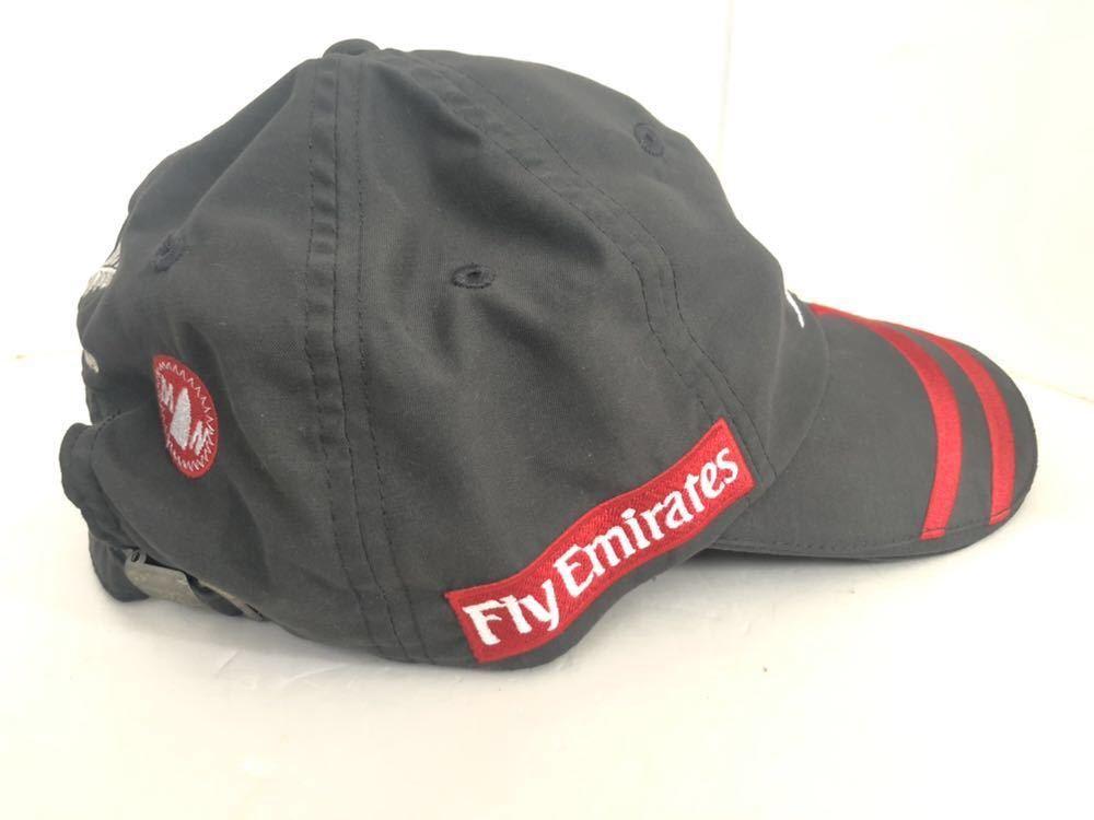送料込み!希少!LINE7 × Emirates TEAM new zealand エミレーツチーム キャップ 帽子 ヨット_画像4