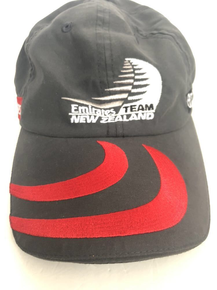送料込み!希少!LINE7 × Emirates TEAM new zealand エミレーツチーム キャップ 帽子 ヨット_画像7