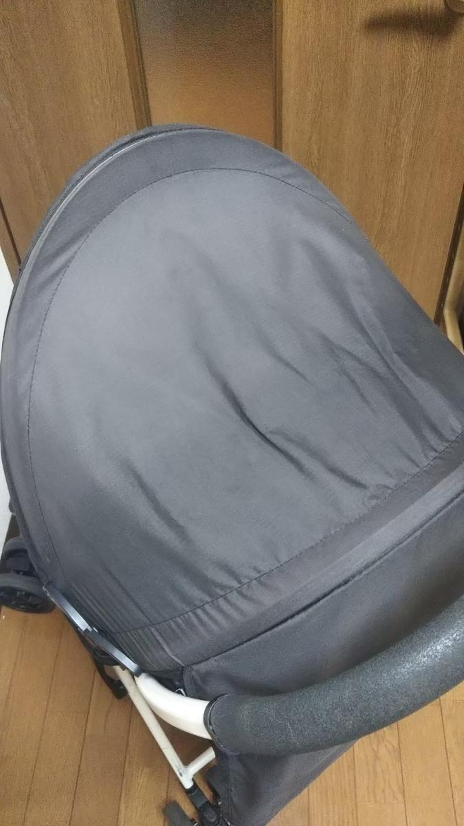 Aprica(アップリカ) B型ベビーカー マジカルエアープラス ユニオンジャック柄 おまけ付(ドリンクホルダー、レインカバー)カゴに穴あり_画像6