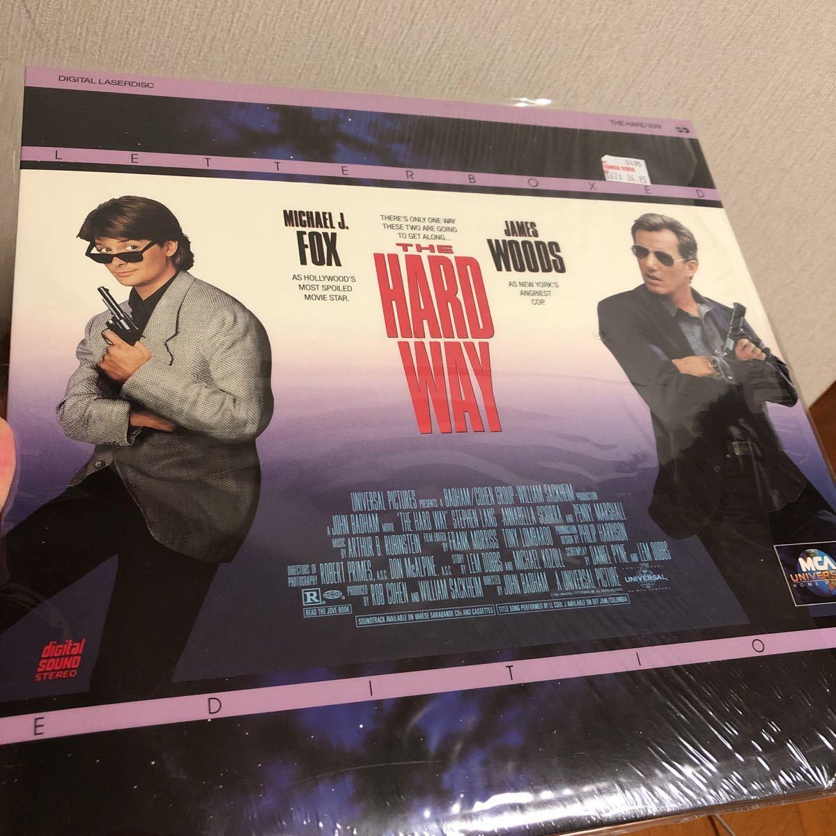 【新品】マイケル・J・フォックス Michael J. Fox 主演映画 LDレーザーディスク 4枚セット 洋画 輸入盤 ハード・ウェイ バラ色の選択 他_画像4