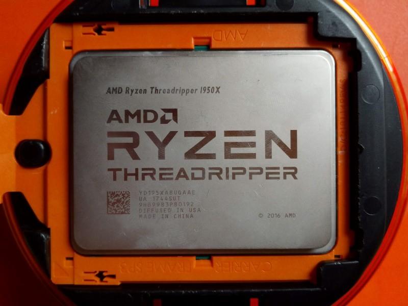 【ジャンク】AMD Ryzen Threadripper 1950X【でも動作確認済み】_画像2