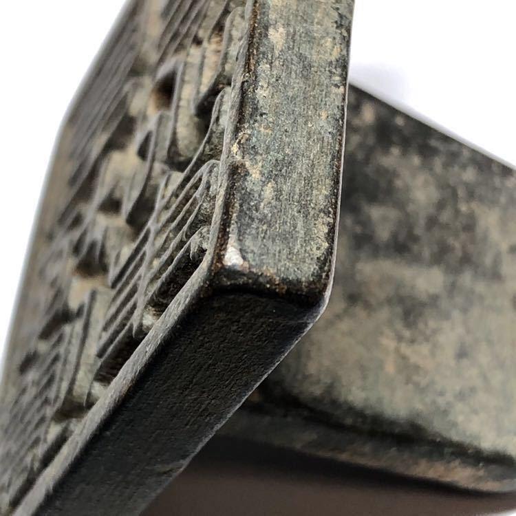 時代 李朝 銅製鈕印 朝鮮王朝 印材 朝鮮美術 骨董品_画像7