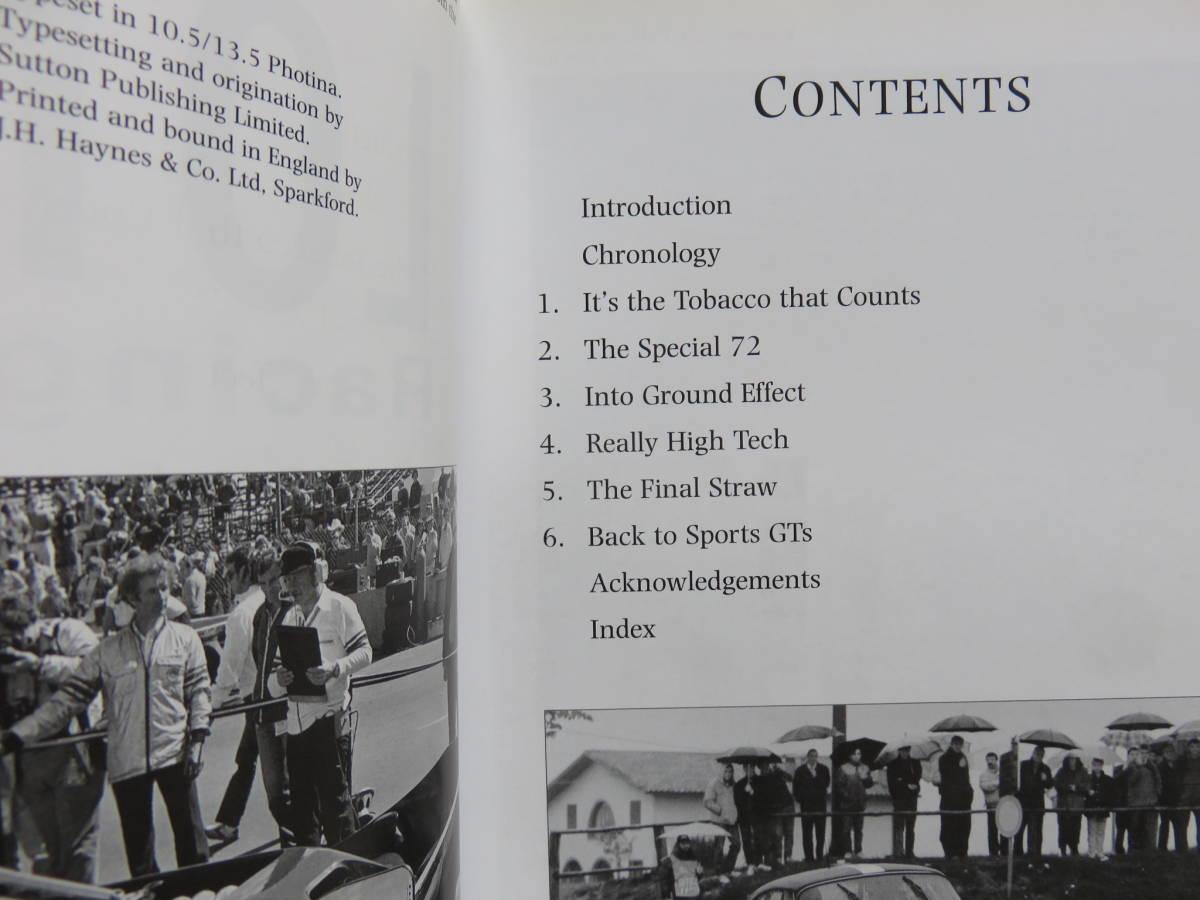"""◆""""LOTUS RACING CARS 1948-1968"""" """"LOTUS RACING CARS 1968-2000"""" 2冊セット◆ JOHN TIPLER_画像4"""