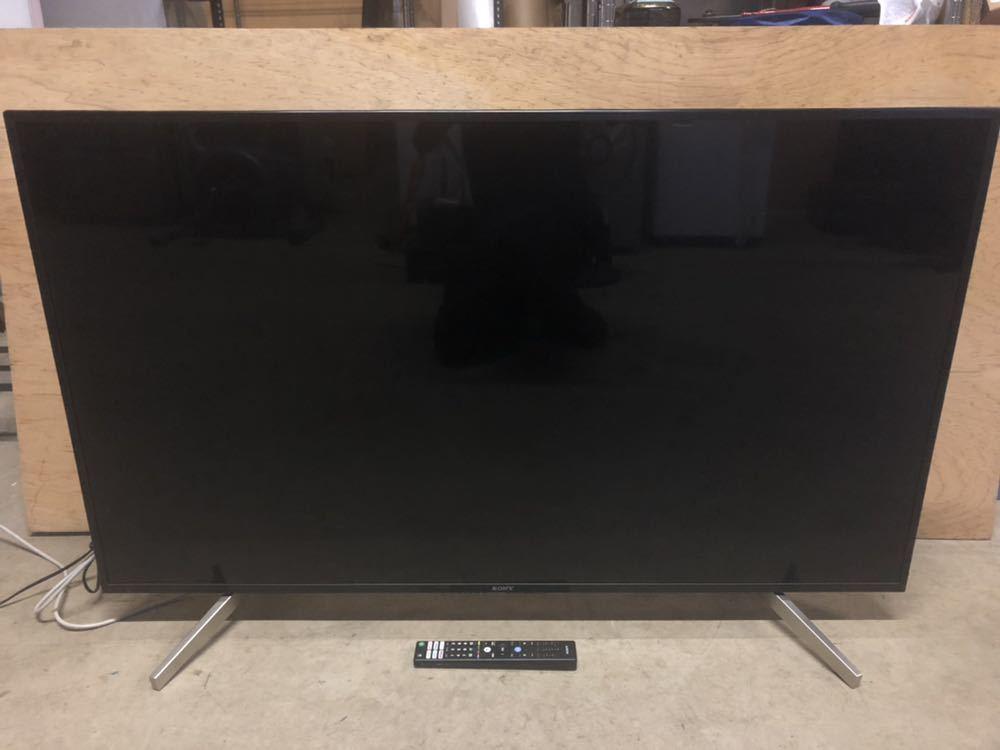 624-1 ☆極美品☆SONY BRAVIA KJ-55X7500F 4K 液晶 テレビ 55型 2018年製 リモコン B-CAS付き 薄型 _画像2