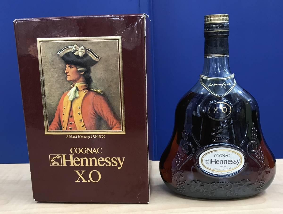 未開栓 Hennessy XO COGNAC ヘネシー 金キャップ ジャズヘネシー グリーンボトル 700ml