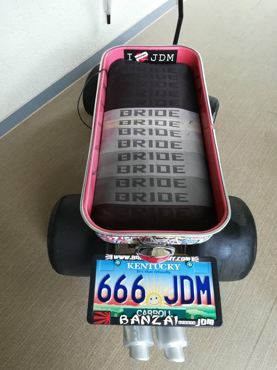 キャリーカート カート タイヤ アンダーLED JDM USDM STANCE ラジオフライヤーもどき not radio flyer _画像4