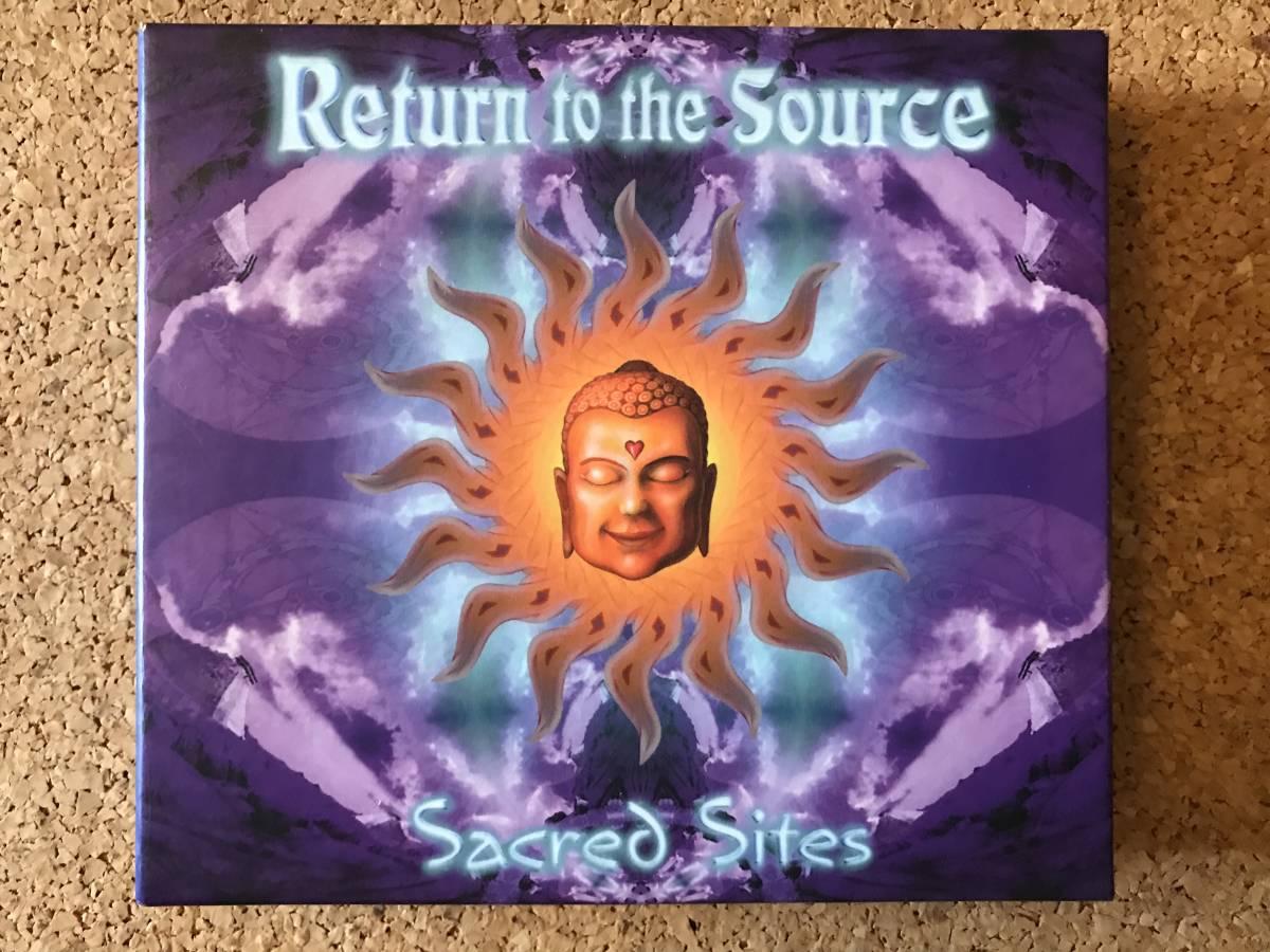 ヤフオク! - Return to the Source Sacred Sites 名作2CD