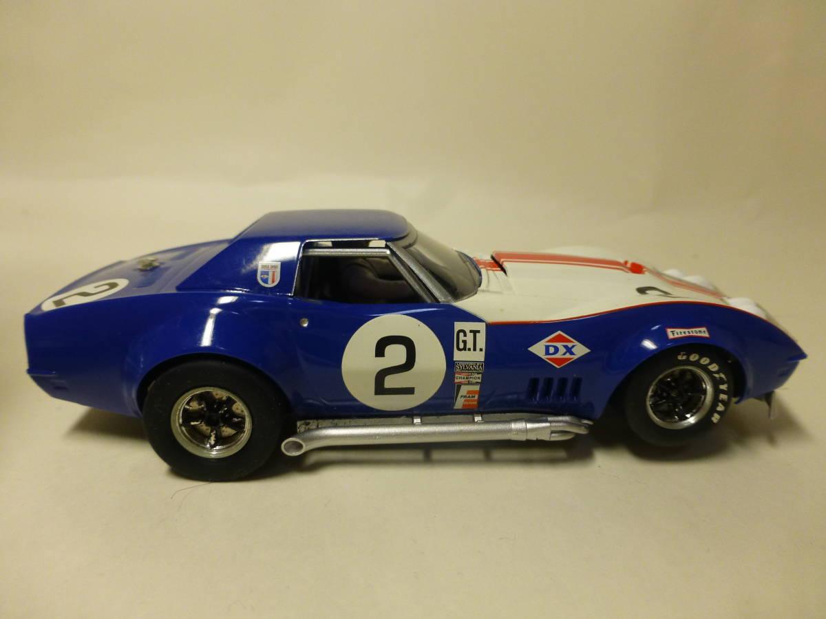 HORNBY コルベット Chevrolet Corvette L-88 1969 スロットカー ②_画像4