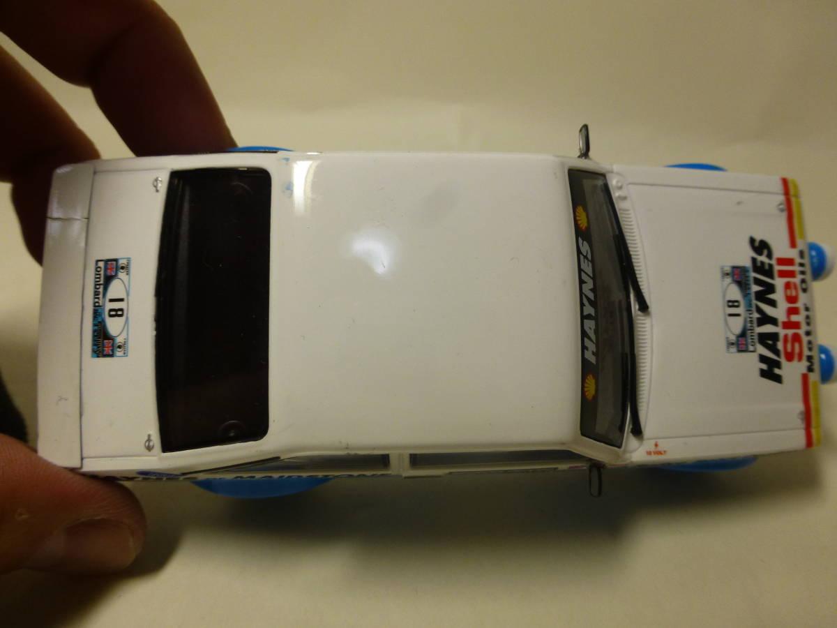 HORNBY FORD Escort MK2  スロットカー_画像4