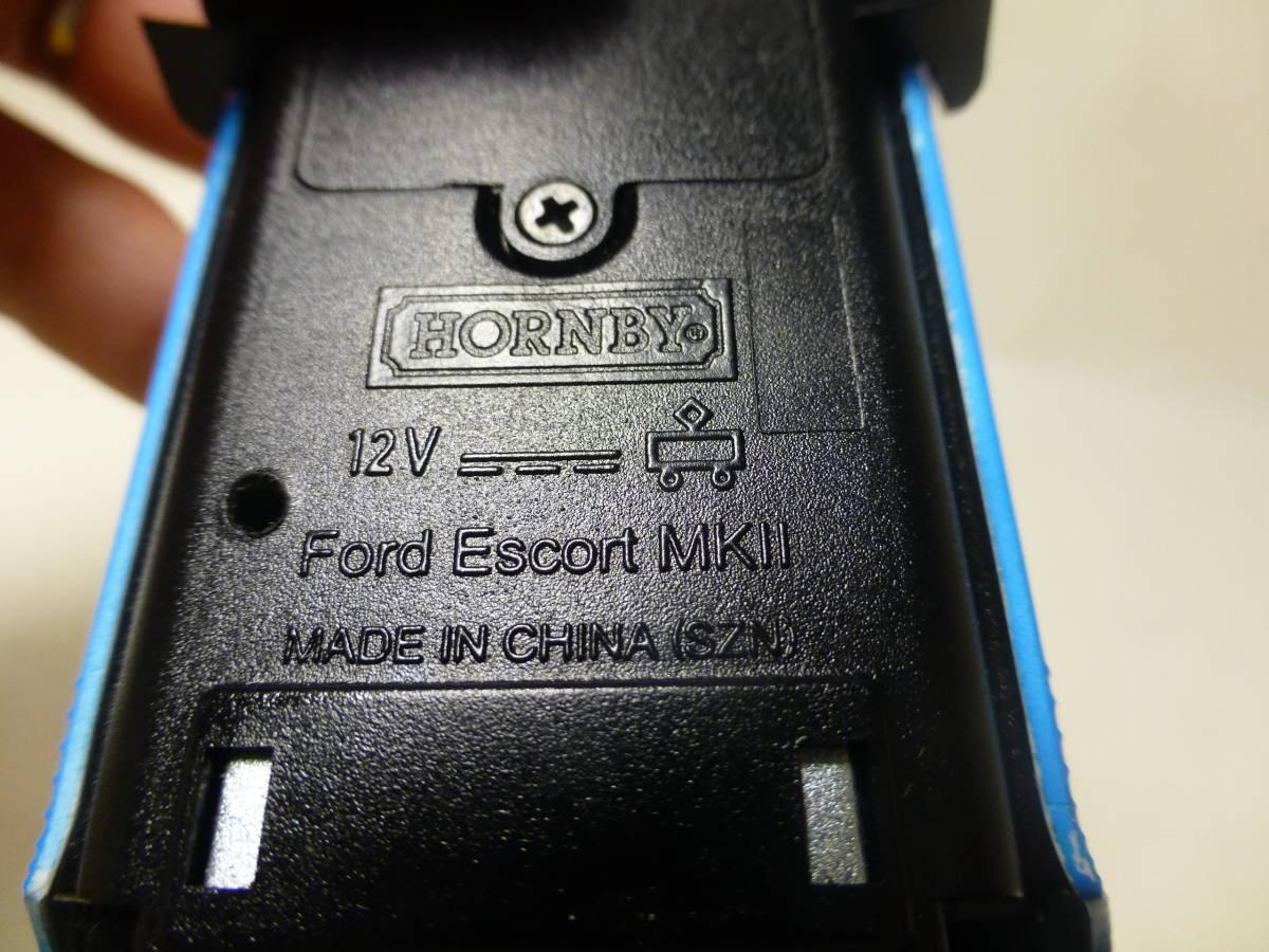 HORNBY FORD Escort MK2  スロットカー_画像6