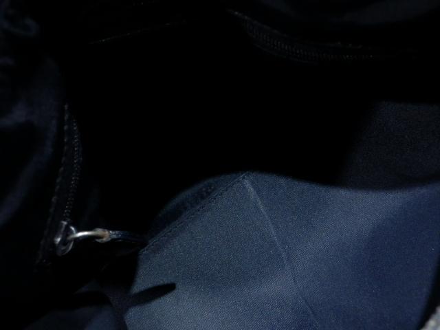 1円 Dior ディオール PVC×エナメル トロッター ハンド バッグ ブラック×ゴールド_画像8