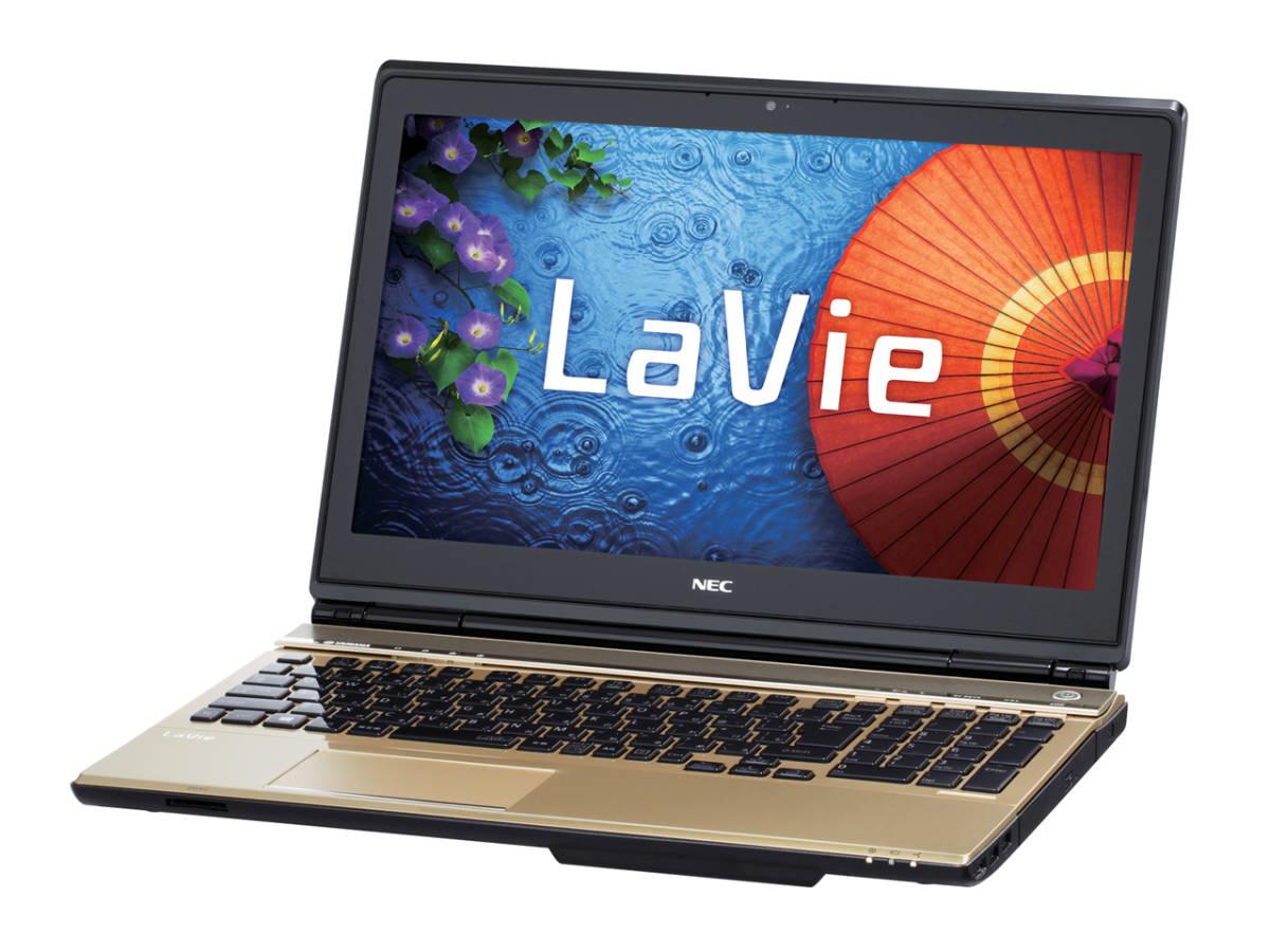 NEC LaVie L LL750/SSG PC-LL750SSG Core i7 4700MQ(Haswell) 2.4GHz 4コア/8GB/SSD500GB(新品)/BD/タッチ/Win10/Office/中古良品※65CA_画像1