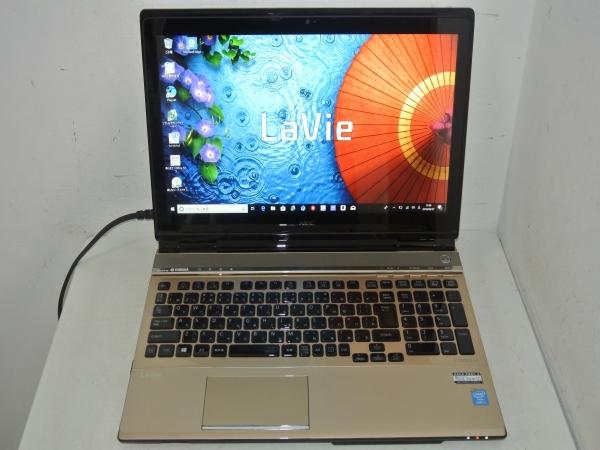 NEC LaVie L LL750/SSG PC-LL750SSG Core i7 4700MQ(Haswell) 2.4GHz 4コア/8GB/SSD500GB(新品)/BD/タッチ/Win10/Office/中古良品※65CA_画像2