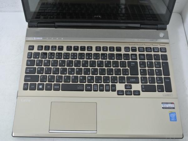 NEC LaVie L LL750/SSG PC-LL750SSG Core i7 4700MQ(Haswell) 2.4GHz 4コア/8GB/SSD500GB(新品)/BD/タッチ/Win10/Office/中古良品※65CA_画像3