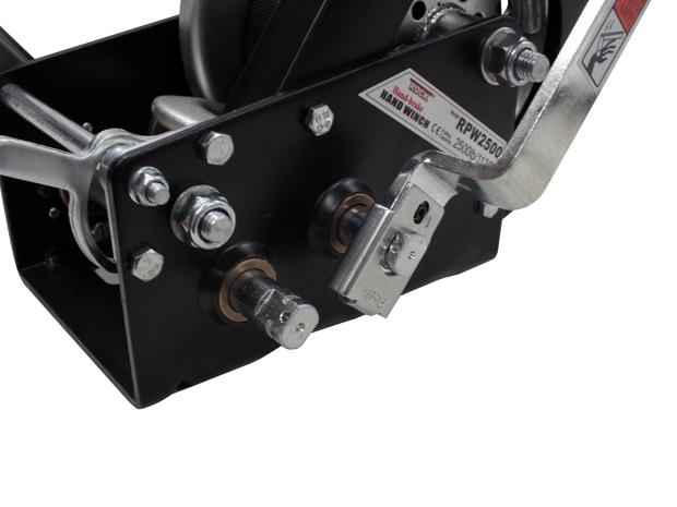 【sea0607】高性能 ハンドウィンチ RPW2500(1133kg) 回転速度切り替え可能_画像2