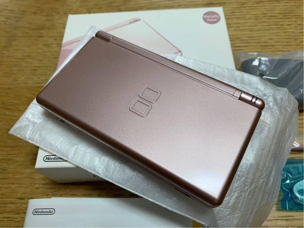 【美品】DS Lite☆メタリックロゼ☆完品☆_画像3