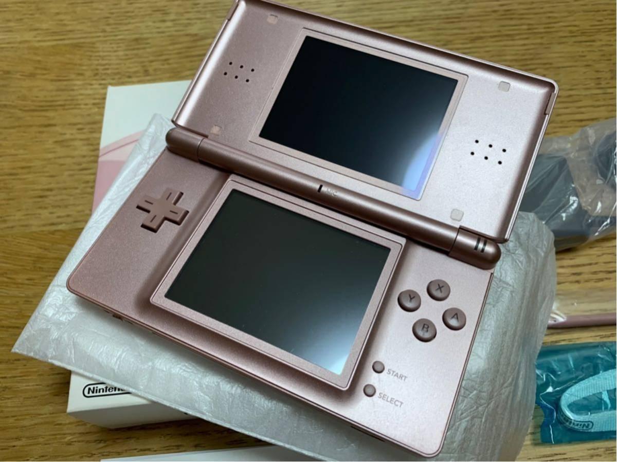 【美品】DS Lite☆メタリックロゼ☆完品☆_画像4