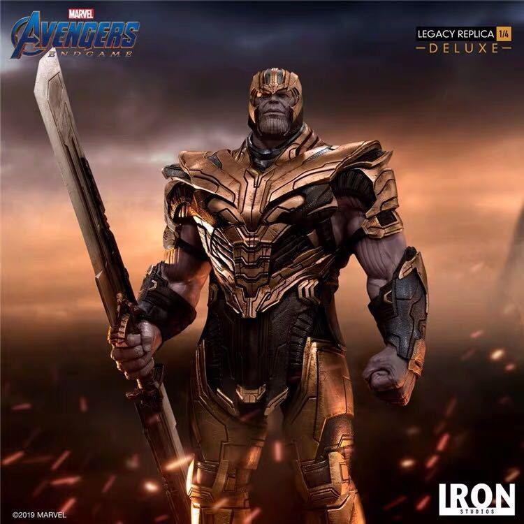 予約中 送料無料 Marvel アベンジャーズ フィギュア 大人気 正規品 豪華版 サノス_画像3