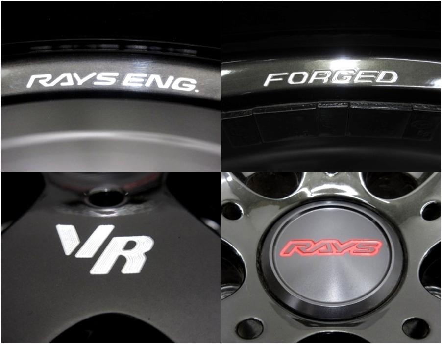 レイズ ボルクレーシング G25 ★ 4本セット PCD114.3 ★ 245/35ZR19 ★ GRB インプレッサ VAB_画像4