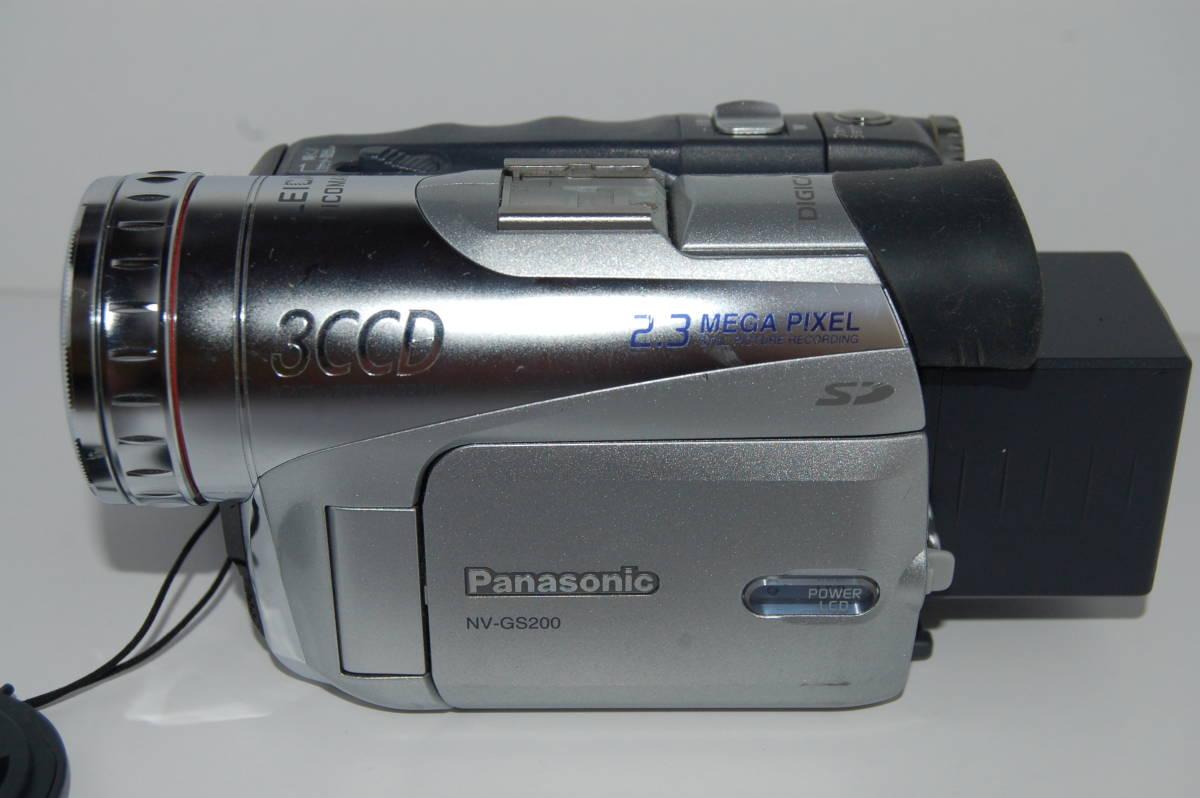 パナソニック NV-GS2000 動作未確認 故障前提ジャンク_画像2