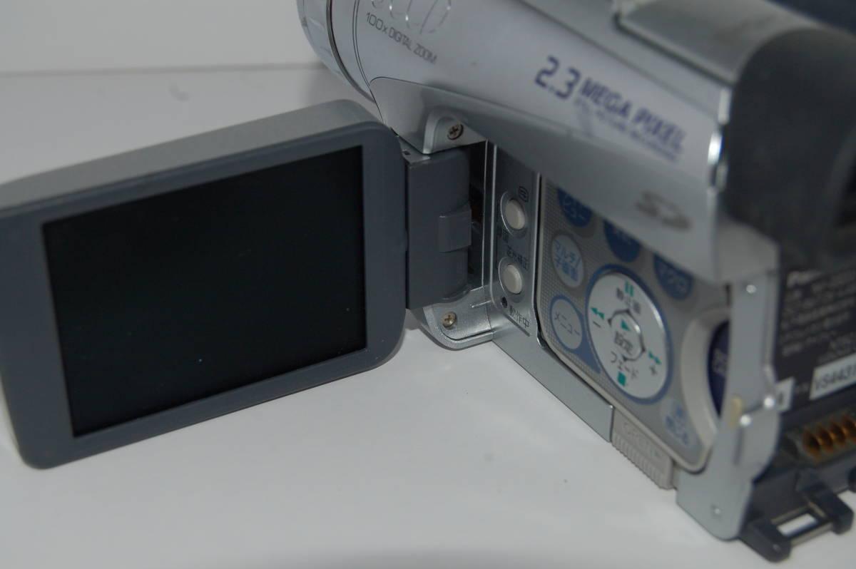 パナソニック NV-GS2000 動作未確認 故障前提ジャンク_画像4