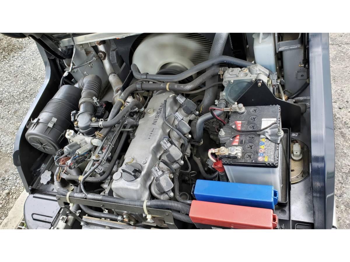 日産 2Tフォークリフト ☆Nissan LPL02 2ton ☆ ガソリン,ガス フォークリフト_画像5